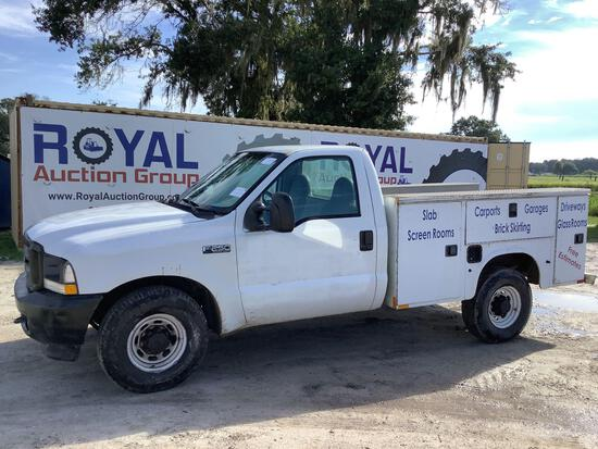2004 Ford F-250 Service Truck