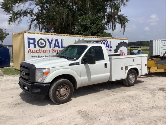 2015 Ford F-250 Service Pickup Truck