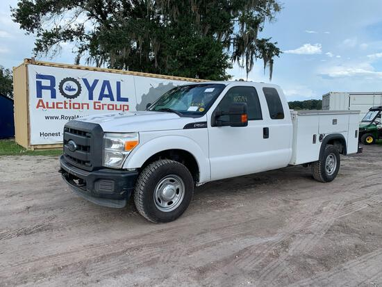 2012 Ford F-350 Ext Cab Service Truck