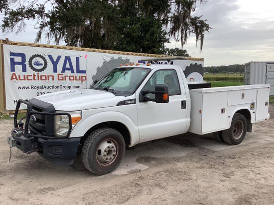 2014 Ford F-350 Service Pickup Truck