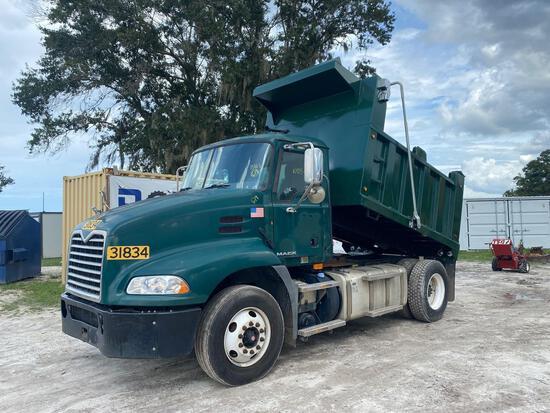 2012 Mack CXU612 Dump Truck