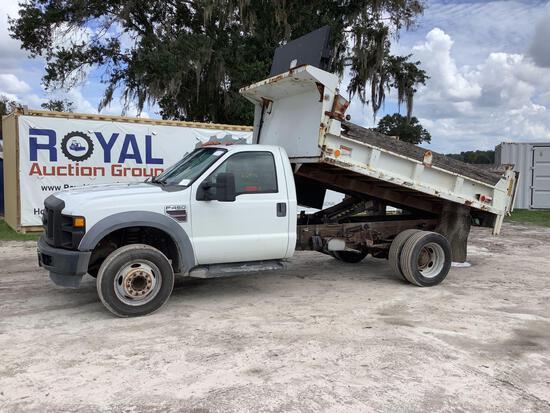 2008 Ford F-450 Dump Truck
