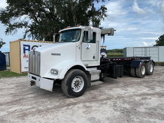 2002 Kenworth T800 T/A Rolloff Dump Truck