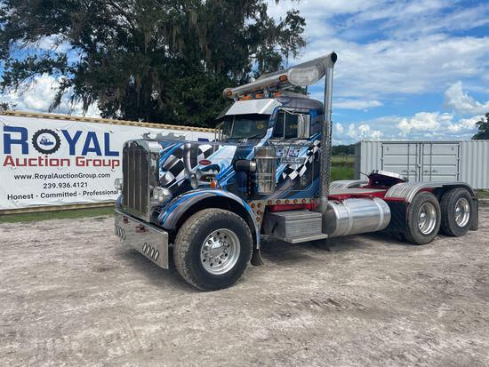 1987 Peterbilt 359 T/A Daycab Truck Tractor