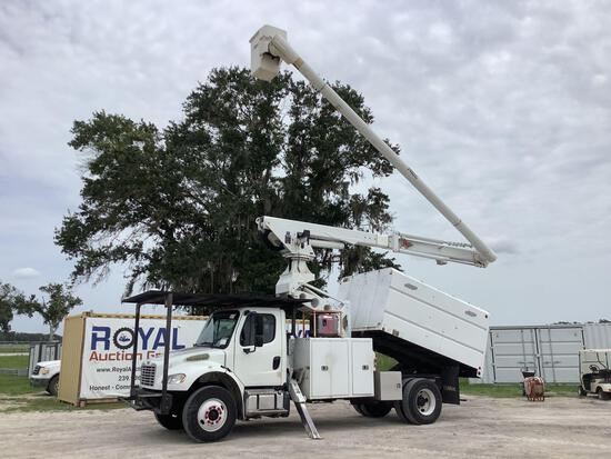 2014 Freightliner M2 75FT Forestry Bucket Chip Truck