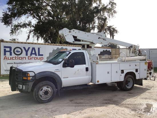 2006 Ford F-550 40FT Insulated Bucket Truck