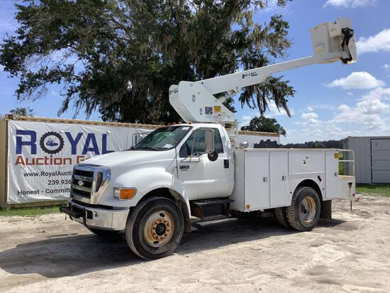 2007 Ford F-750 37FT Insualted Bucket Truck
