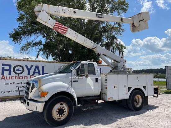 2007 Ford F-750 45FT Insulated Bucket Truck