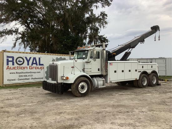 2005 Peterbilt 357 T/A 35 Ton Heavy Haul Tow Truck