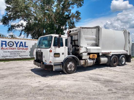 2016 Autocar Xpeditor Side Loader Garbage Truck