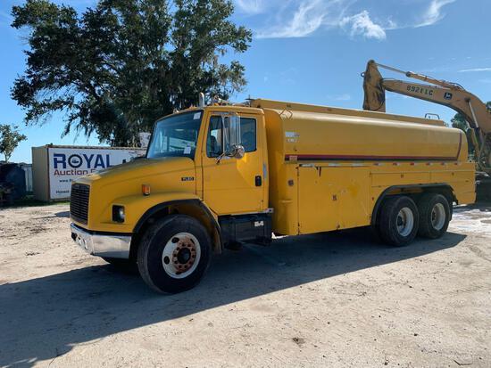 1998 Freightliner FL80 4,000 Gallon T/A Fuel Truck
