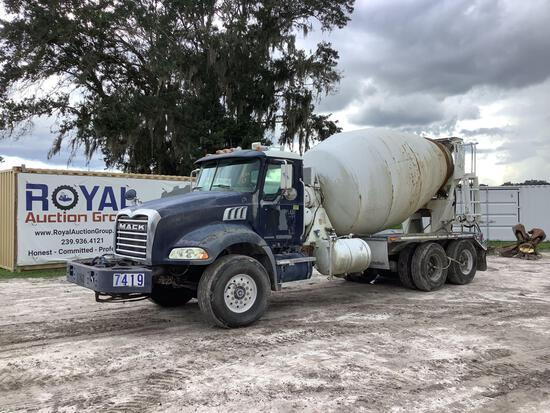 2007 Mack CT713 T/A Rear Discharge Concrete Mixer Truck