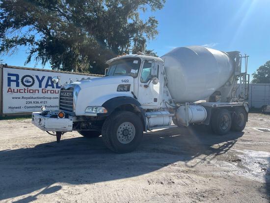 2006 Mack CT713 10.5yd Rear Discharge Mixer Truck