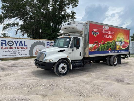 2007 International 4300 Reefer Box Truck