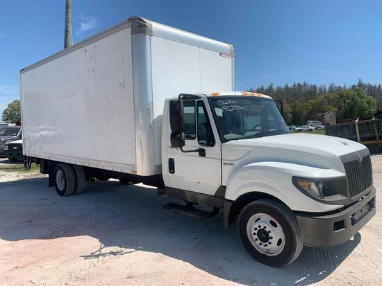2014 International TerraStar 20FT Box Truck