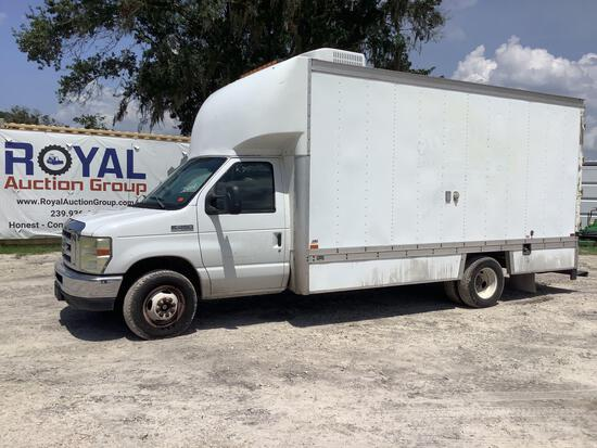 2010 Ford E-450 Sewer Viewer Box Truck