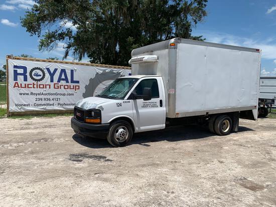 2012 GMC Savana Reefer Box Truck