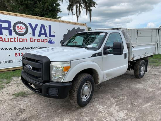 2011 Ford F-350 Utility Bed Pickup Truck