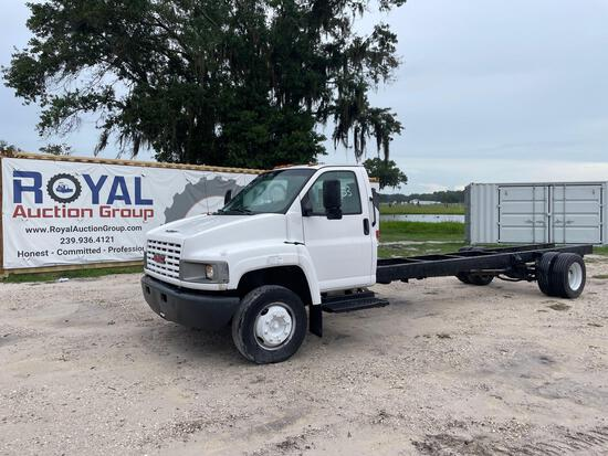 2006 GMC C5500 Cab and Chassis Truck