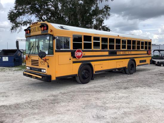 2013 Blue Bird 72 Passenger Bus
