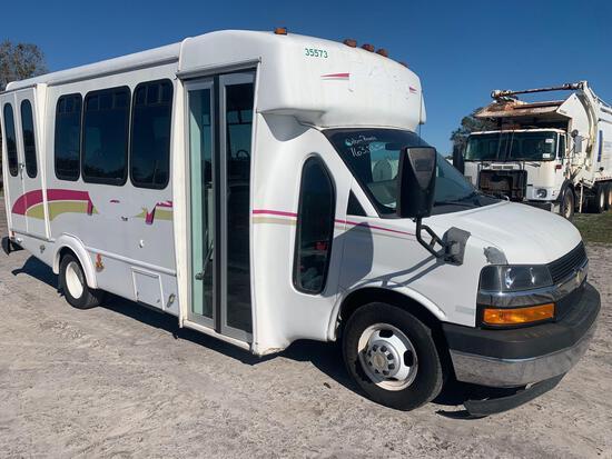 2012 Chevrolet 4500 Handicap Transit Bus