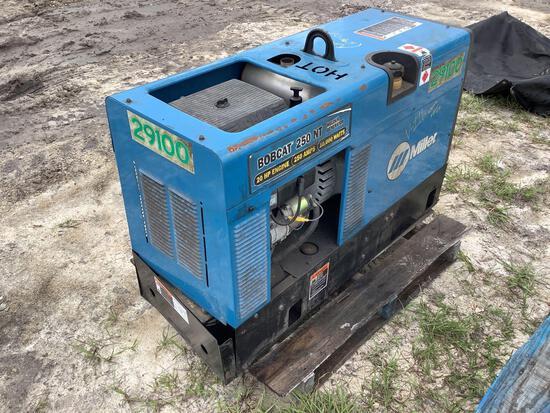 Miller Bobcat 250 NT AC/DC Welder Generator