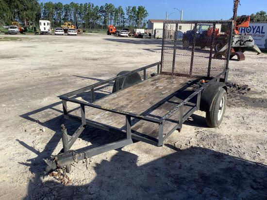 10FT Single Axle Trailer with Ramp