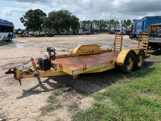 2003 Crosley 16FT T/A Equipment Trailer with Ramps