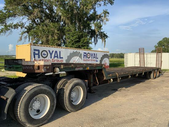 Great Dane GPD-44 40 ton T/A Step Deck Trailer with Ramps