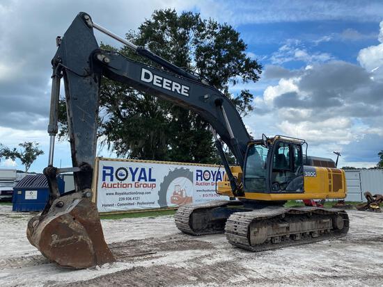 2017 John Deere 380G LC Hydraulic Excavator