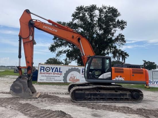 2015 Hitachi 350ZX-6N LC Hydraulic Excavator