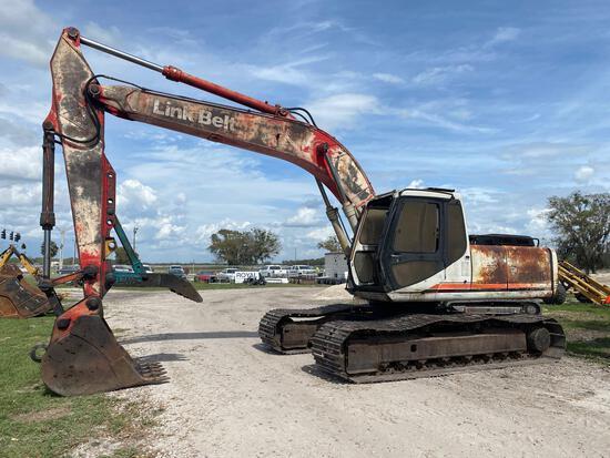 1998 Link Belt 2800 Quantum Hydraulic Excavator