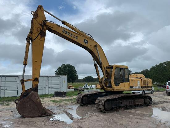 John Deere 892E LC Hydraulic Excavator