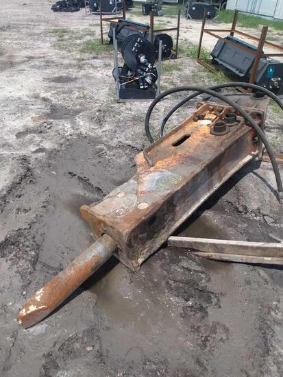 Excavator Hydraulic Breaker Demo Hammer Attachment