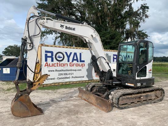 2013 Bobcat E85 Hydraulic Midi Excavator