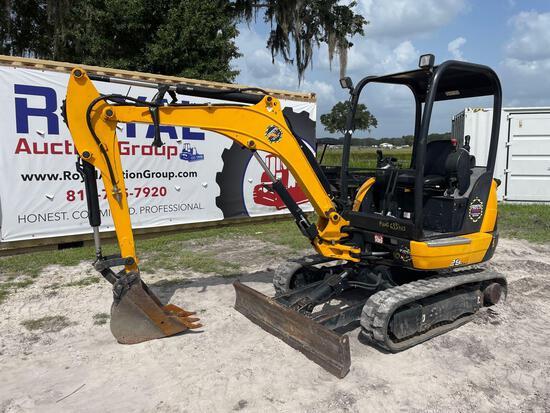 2018 JCB 829 Mini Excavator