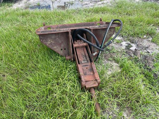 Bobcat Skid Steer Hydraulic Breaker Demo Hammer