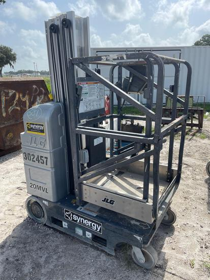 2018 JLG 20MVL Electric 24V Personnel Lift