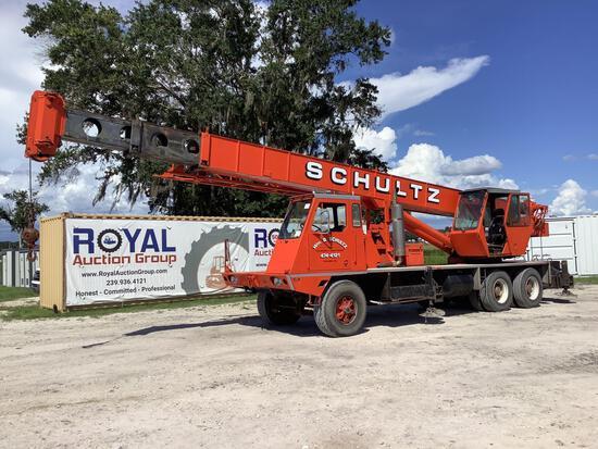 1981 Koehring 428 T-888-15 15Ton T/A Truck Crane