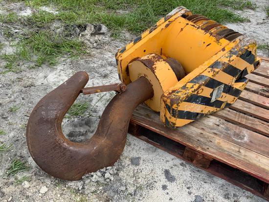 Lorain 75 Ton 5 Sheave Hook Block