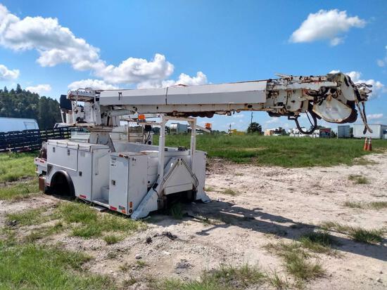 Altec DM47 TR Digger Derrick Unit and Truck Body