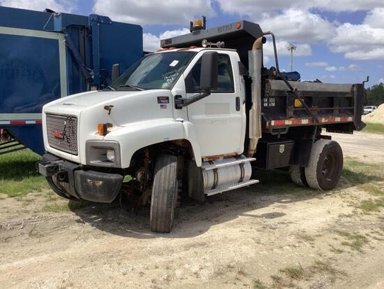 2005 GMC C7500 Dump Truck