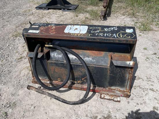 Toro Dingo Hydraulic Rotary Tiller Attachment