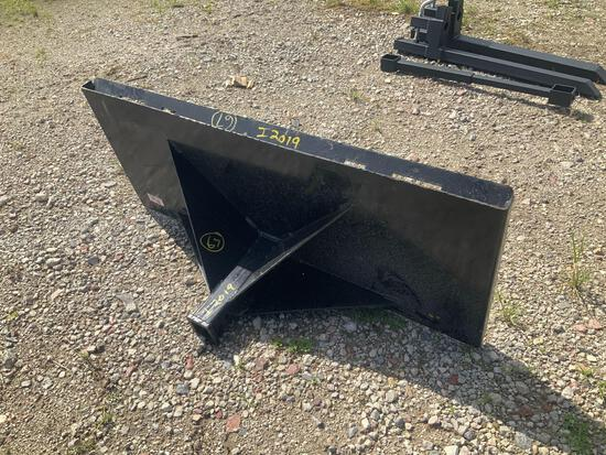 Unused Skid Steer Tow Receiver Plate