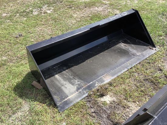 Unused 72in Skid Steer Bucket