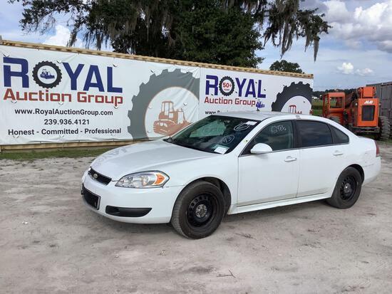2012 Chevrolet Impala 4-Door Police Cruiser