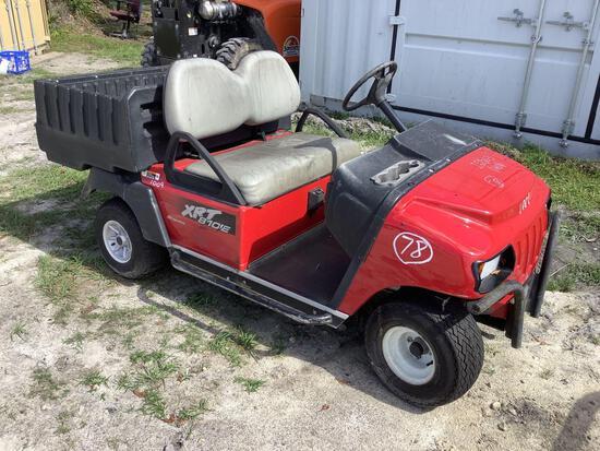 Club Car XRT 810E Dump Utility Cart
