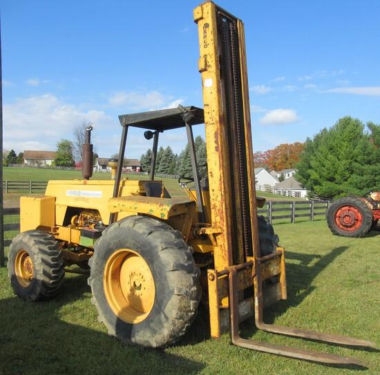 Harlo Workhorse Forklift.