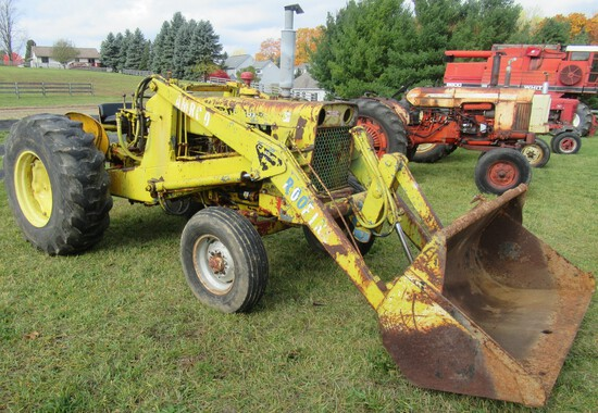 1966 Case 430 Gas with Loader.