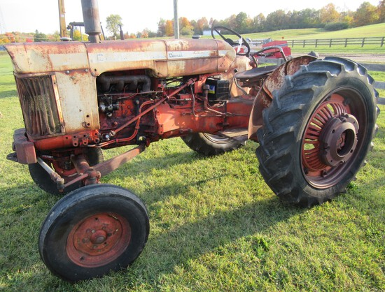 1960's Case 630 Diesel Wide Front Tractor.